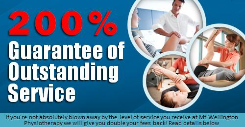 Your Physiotherapy Service is 200% Guaranteed